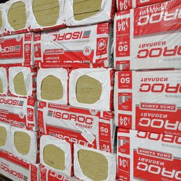 Изоляционные материалы - Утеплитель Изорок пл. 50, 0