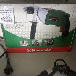 Дрели и строительные миксеры - Дрель ударная Hammer UDD 1100A, 0