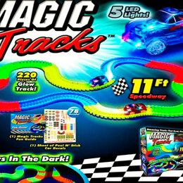 Конструкторы - Magic Tracks Гоночная трасса-конструктор 220 деталей, 0