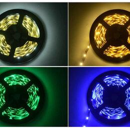 Светодиодные ленты - Светодиодная LED лента 12В, контроллер, адаптер бп, 0