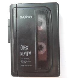 Диктофоны - Диктофон кассетный Sanyo M1018, 0