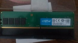 Модули памяти - Crucial DDR4 2400 4гб ct4g4dfs824a, 0