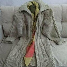 Свитеры и кардиганы - Женский кардиган-пальто авторская модель, 0