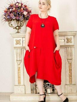 Платья - Платье в стиле бохо 54-56р, 0