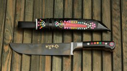 Ножи кухонные - УП-53 Кухонный Нож ПЧАК. Ручная работа. , 0