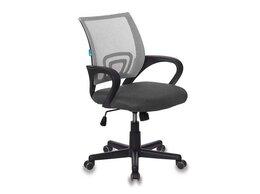 Компьютерные кресла - Кресло Спринг спинка сетка серое сиденье TW серое, 0