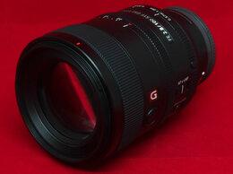 Объективы - Sony FE 100mm f/2.8 STF GM OSS (гарантия, чек), 0