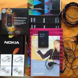 Мобильные телефоны - Nokia 5800 XpressMusic, Blue, 0