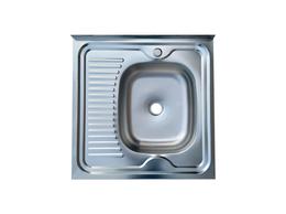 Кухонные мойки - Мойка накладная Top furniture с крылом, 0