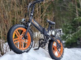 Мототехника и электровелосипеды - Электровелосипед складной фэтбайк 350Вт, 0