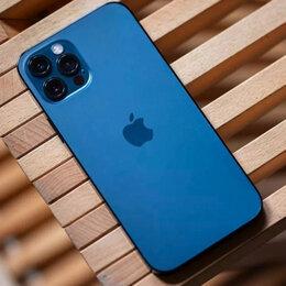 Мобильные телефоны - iPhone 12 Pro Max Pacific Blue 256gb новые Ростест, 0