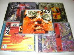 Музыкальные CD и аудиокассеты - CD диски / индастриал группа Front 242 (5 штук ), 0