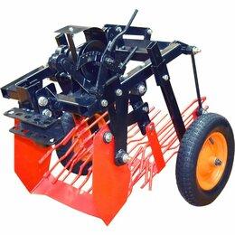 Навесное оборудование - Картофелевыкапыватель грохотный на сайлентблоках ККГМБ.02.00.00 пневм колесо, 0
