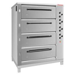 Жарочные и пекарские шкафы - Печь хлебопек. электрич. ХПЭ-750/4 (нержавеющая, В709), 0