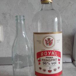 Этикетки, бутылки и пробки - Бутылки от спирта и водки, 0