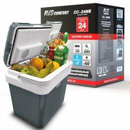 Сумки-холодильники и аксессуары - Автомобильный холодильник CC-24NB AVS (24л) 12В/220В, 0
