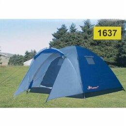 Аксессуары и комплектующие - Палатка трехместная  двухслойная…, 0