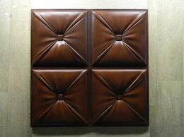 Стеновые панели - 3Д панель Кожа каретная , 0