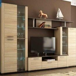 Шкафы, стенки, гарнитуры - АП 47 Соло-10 А (фас-Сонома, кор-Венге/сонома), 0