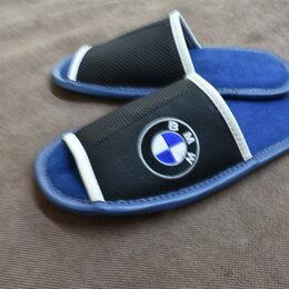 Домашняя обувь - Тапочки домашние мужские с вышивкой, 0