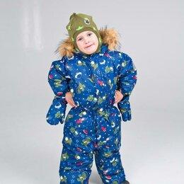 Одежда и обувь - Picco Зимний комбинезон для мальчика M18G004 (9 мес.), 0