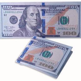 Кошельки - Кошелёк в виде 100 долларов с отсеком для карточек, 0