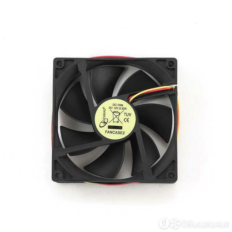 Вентилятор Gembird FANCASE2 90x90x25 втулка 3 pin  по цене 109₽ - Кулеры и системы охлаждения, фото 0