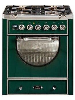 Плиты и варочные панели - Газовая плита с духовым шкафом ILVE MCA-70D-VG, 0