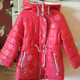 Куртки и пуховики - Пуховик красный, 0