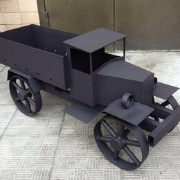 Грили, мангалы, коптильни - Мангал в форме авто, 0