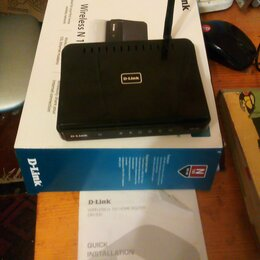 Оборудование Wi-Fi и Bluetooth - Роутер d-link dir-300, 0