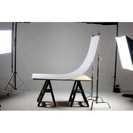 Фоны - Фон пластиковый FST 100х200 белый матовый Белый пластиковый фон 100х200 см., 0