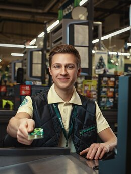 Кассир - В сеть супермаркетов требуются: Сотрудники, 0