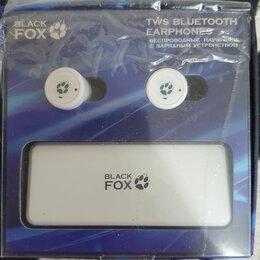 Компьютерные гарнитуры - Наушники TWS Black Fox BAH-002, 0