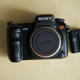 Фотоаппараты - Фотоаппарат Sony A900 и Sony A700 + Объективы, 0