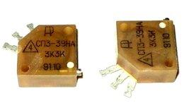 Товары для электромонтажа - Резисторы: сп3-39на / сп3-38 / пэв10 / С5-35В, 0