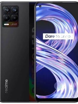 Мобильные телефоны - Realme 8 6/128gb Черный…, 0