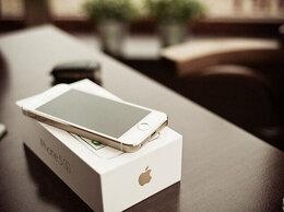 Мобильные телефоны - iPhone 5s 16gb Gold - новые, 0