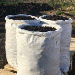 Субстраты, грунты, мульча - Торфогрунт в мешках по 60 литров, 0