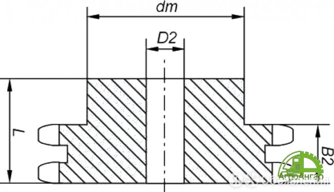 Звездочки 12B-2 (2ПР-19,05) Z=10 по цене 632₽ - Производственно-техническое оборудование, фото 0