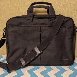 Аксессуары и запчасти для ноутбуков - Сумка для ноутбука Continent CC-018 black, 0