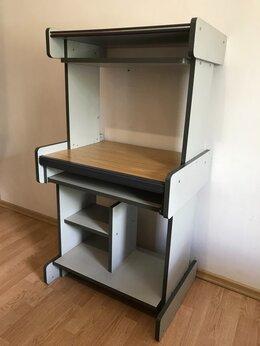 Компьютерные и письменные столы - Продам стол компьютерный для ПК серый…, 0