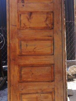 Входные двери - продам дверь деревянную,новую., 0