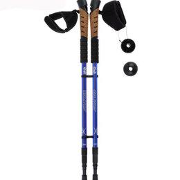 Походная мебель - Палки для скандинавской ходьбы, телескопические, 3 секции, 0