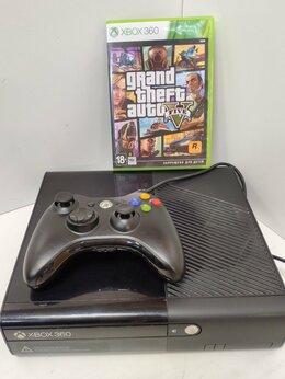 Игровые приставки - Приставка xbox 360 + 2 игры , 0