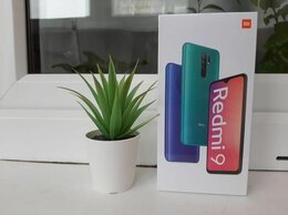 Мобильные телефоны - Xiaomi Redmi 9 новый запечатанный 3/32 гб, 0