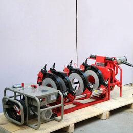 Аппараты для сварки пластиковых труб - Стыковой сварочный аппарат для пнд труб 63-315 мм., 0