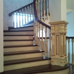 Лестницы и элементы лестниц - Деревянная лестница на заказ, 0