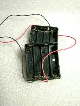 Батарейки - Батарейный отсек блок для 4-х батареек AAА 10440, 0