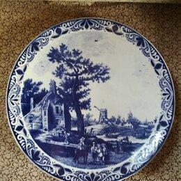 Декоративная посуда - Тарелки настенная Delft 2 штуки, 0